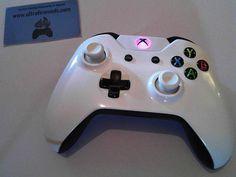 Microsoft xbox one White V2 wireless controller by ultrafiremods