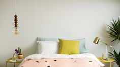 A Very Cute Alternative to Having an Actual Headboard — Sponsored By Sherwin-Williams