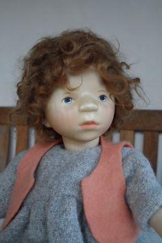 Elisabeth Pongratz Puppe, rothaarig (Berlin) - Puppen