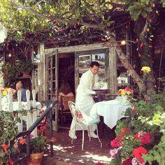 My favorite restaurant - The Ivy. Robertson blvd