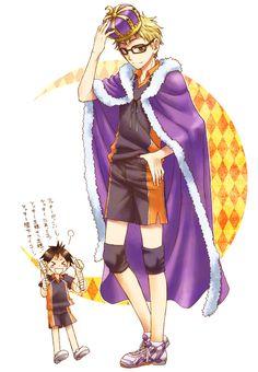 Haikyuu!! ~~ King Kei?