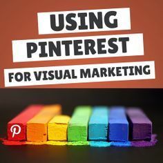Pinterest for Visual Marketing. For an exclusive marketing support for your business in pinterest please visit....... www.pinific.com