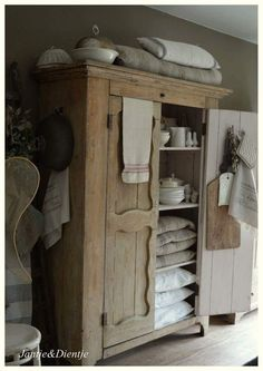 """ lovely Natural Wood Cupboard"
