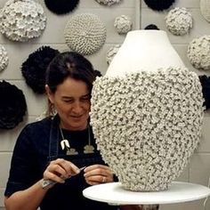 My film is now live on my new website! Click on the link in my bio. Thank you Fern @greatscottfilmsuk for the gentle approach #maker #craftsperson #ceramics #clay #porcelain #vessel #flowers #petals #madeinlondon #passion #detail #surfacedecoration #handmade
