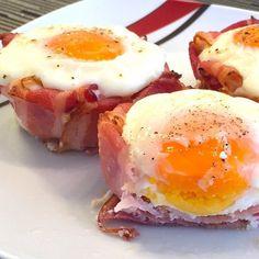 Jammy, leckers Frühstück! Spiegelei im Speckkörbchen #kochen #Kochblog #Kochrezepte #recipes #Rezepte #rezeptideen #Schweiz #breakfast