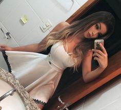 """Amanda Hummer ❥ no Instagram: """"Mais uma opção perfeita pro ano novo.. Vestidinho lindo do @ateliedanara """""""