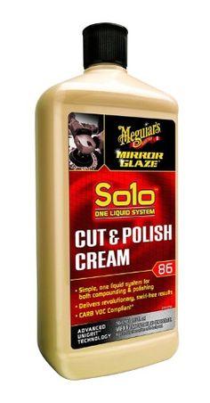 Meguiar's M86 Mirror Glaze Solo Cut & Polish Cream - 32 oz., As Shown Car Care Tips, Car Polish, Car Hacks, Paint Shop, Car Detailing, The Body Shop, Cleaning Supplies, Glaze, Cream