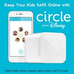 Monitor phones, tablets, computers & more with one simple device - Circle by Disney