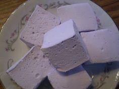 Lavender Honey marshmallows floral pastel by BlueRibbonConfection