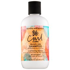 Shop Bumble and bumble's Bb. Curl (Care) Sulfate Free Shampoo at Sephora. This sulfate-free shampoo hydrates and preps curls for frizz-free styles.