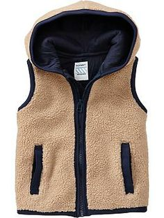 Sherpa Vests for Baby Bot it for $14