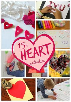 Toddler Approved!: 15 Awesome Heart Crafts and Activities for Kids