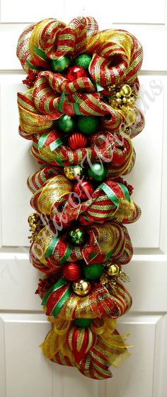 """42"""" Christmas Swag by World of Wreaths"""
