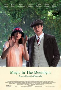 Emma Stone and Colin Firth featured in Magic in The Moonlight directed by Woody Allen. Romantic comedy deserving the portrait of the perfect Englishman with the funny and personal complications so used to Woody Allen. Movies 2014, Hd Movies, Movies To Watch, Movies Online, Movies And Tv Shows, Movie Tv, Indie Movies, Movies Free, Netflix Movies