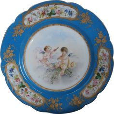 19th Century French Plate...
