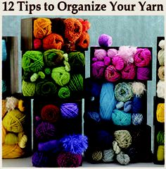 Pocket : 12 Tips on How to Organize Your Yarn Stash