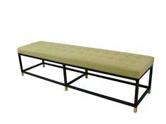 Custom Iron Platform Bench