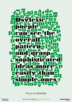 Dyslexia visualisation
