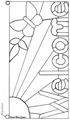 תוצאת תמונה עבור Free Mosaic Patterns for Beginners Free Mosaic Patterns, Stained Glass Patterns Free, Stained Glass Quilt, Faux Stained Glass, Stained Glass Designs, Stained Glass Panels, Stained Glass Projects, Pebeo Vitrail, Easy Mosaic