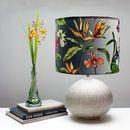Tropical Hothouse Botanical Print Lampshade