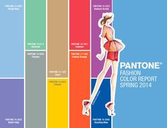 Colores Pantone P/V 2014