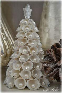 Image result for sophisticated coastal christmas decor