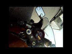 Motorcycle crash down from kickstand Suzuki SV 1000s