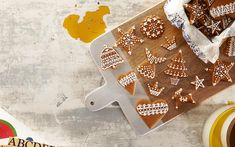 Gingerbread biscuits recipe - By FOOD TO LOVE, Alexa Johnston gets you out of the mall and into the kitchen to craft delicious edible Christmas gifts.