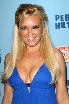 Bridget Marquardts partial updo hairstyle