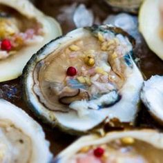 Raw Bar (Oysters And Clams) With Asian Mignonette Recipe Recipe - Edamam