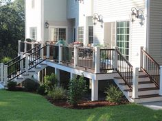 The pergola kits are the easiest and quickest way to build a garden pergola. There are lots of do it yourself pergola kits available to you so that anyone could easily put them together to construct a new structure at their backyard. Deck Railing Design, Backyard Patio Designs, Deck Railings, Pergola Designs, Vinyl Deck Railing, Front Porch Railings, Railing Ideas, Pergola Cost, Metal Pergola