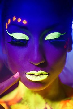 UV Light makeup is a must at the next Neon Nancy photoshoot or event!