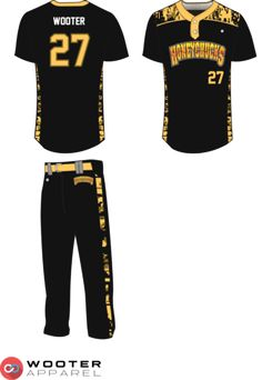 a98e72ba0 Custom Baseball Uniforms & Jerseys — Wooter Apparel | Team Uniforms and  Custom Sportswear