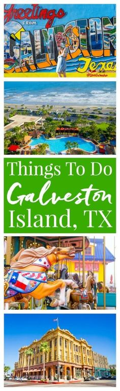 Planning a trip to Galveston Island, Texas? Here are 14 not to be missed things … Planning a trip to Galveston Island, Texas? Here are 14 not to be missed things that you should add to your itinerary! via Rebecca Hubbell / Sugar & Soul Texas Vacations, Texas Roadtrip, Texas Travel, New Travel, Future Travel, California Travel, Travel Usa, Family Travel, Family Vacations