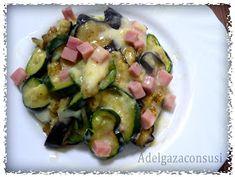 Recetas Light - Adelgazaconsusi: Berenjena y calabacín con jamón y queso,¡¡ delicioso!!