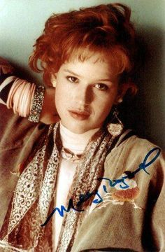 Molly Ringwald - the star of so many of my favorite teen movies