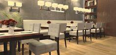 Horeca Interieurontwerp : Horeca meubilair, horeca interieur en horeca interieurdesign Restaurants, Conference Room, Interiors, Furniture, Table, Home Decor, Interior, Decoration Home, Room Decor