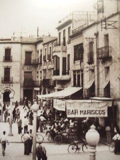 Plaça de Baix, Elche (Alicante).