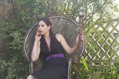 Robe moderne inspirée de la méchante Maléfique : Robe par kotka-utopia