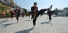 Meet the Kung Fu Nuns Fixing Nepal After Its Devastating Earthquakes