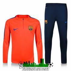 Venta Chandal de futbol FC Barcelona naranja 2016 2017 baratas