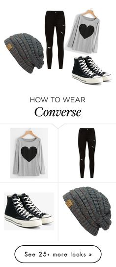 """tumblr"" by aenoch-1 on Polyvore featuring Converse"
