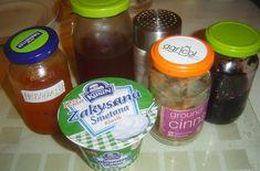 8_livance-zakysana-smetana Salsa, Jar, Food, Essen, Salsa Music, Meals, Yemek, Jars, Eten