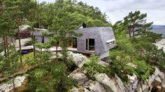 Arkitektparet Gudrun Molden og Per Højgaard Nielsen fikk bygge hytte på et sted «ingen skulle tru at nokon kunne bu».