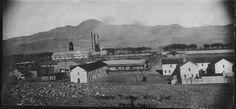 Vista panorámica del aserradero Pearson Co. Empresa del Ferrocarril Noroeste de México.(1910)