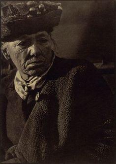 Paul Strand - Portrait, Washington Square 1916