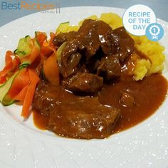 Used chops, cooked for Used 1 can tomato purée - double the sauce mixture. Used cups of water plus cups chicken stock. Lamb Chop Recipes, Meat Recipes, Slow Cooker Recipes, Dinner Recipes, Cooking Recipes, Savoury Recipes, Curry Recipes, Recipies, Lamb Dishes