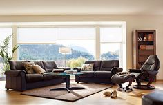 Stressless | Liberty Sofa #shopthetinroof http://www.thehanleycollection.com/Stressless%20by%20Ekornes.inc