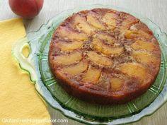 Grain Free Peach Upside Down Cake at The Gluten-Free Homemaker