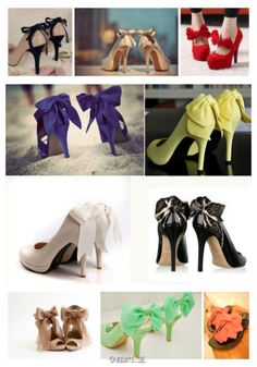shoes with bows!!!! Who can't love them???